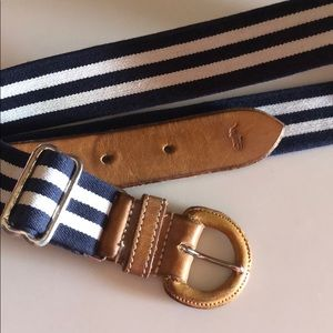 Vintage polo Ralph Lauren adjustable men's belt 38